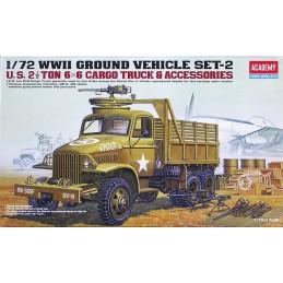 ACA-13402 1/72 US 2,5 TON TRUCK  ACCESSOIRES