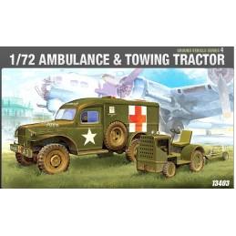 ACA-13403 1/72 US DODGE AMB.+TRAKTOR