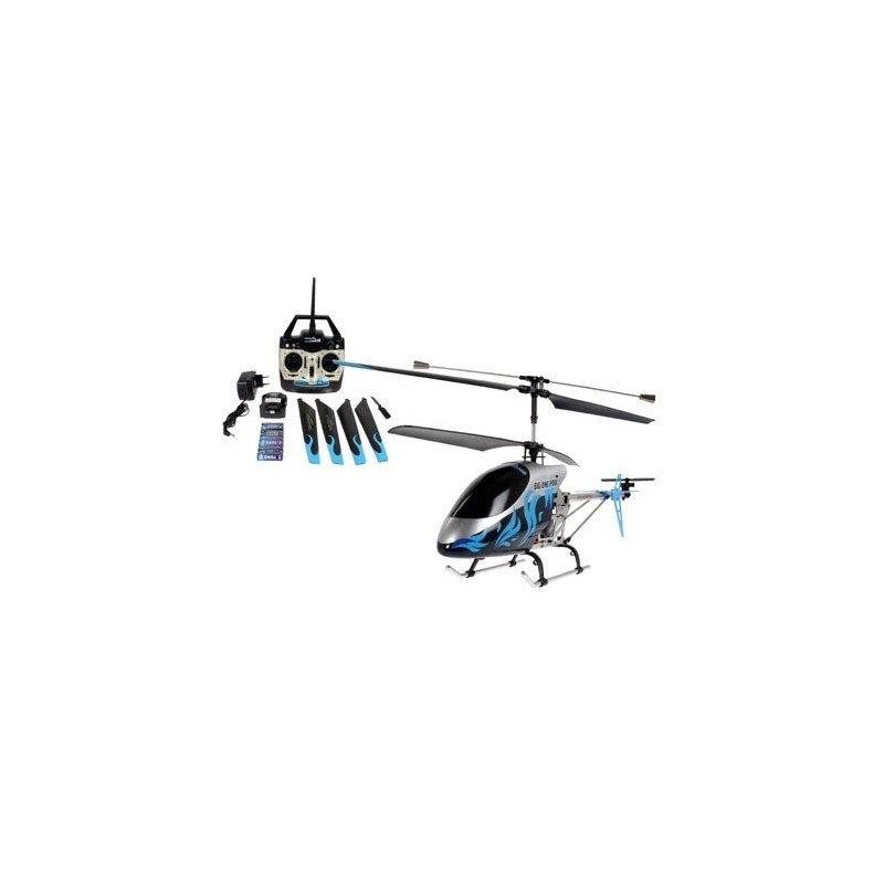 REV-24064 HELICOPTERO THE BIG ONE PRO RTF con luces. 3 canales.long: 620 mm.