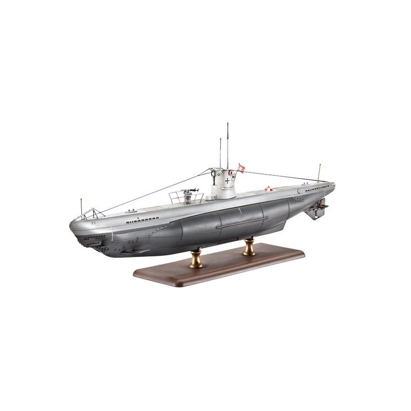 REV-5115 1/144 SUBMARINO ALEMAN U-BOOT TIPO IIB