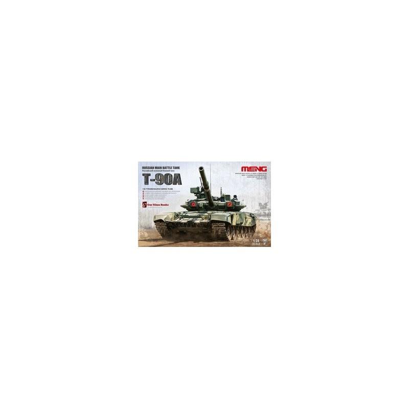 MENG-TS006 1/35 Russian Main Battle Tank T-90A 013018+fotograbados