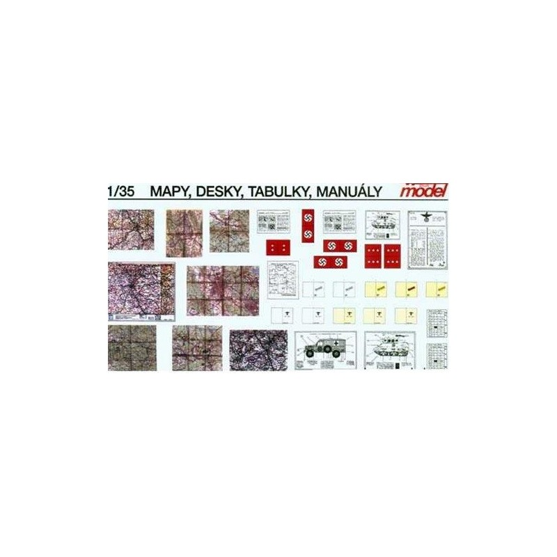 PL-035 1/35  Maps. Boards. manuals