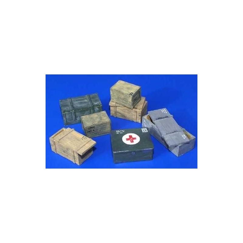 PL-096 1/35 Transport boxes