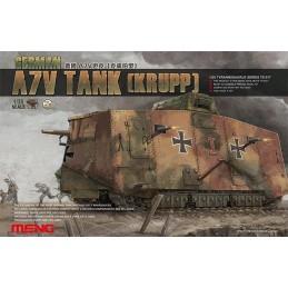MENG-TS017 1/35 German A7V Tank(Krupp)+fotograbados