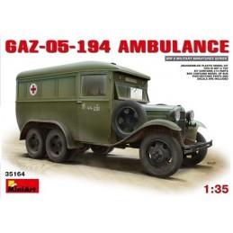 MA-35164 1/35 GAZ-05-194 Ambulance+fotograbados