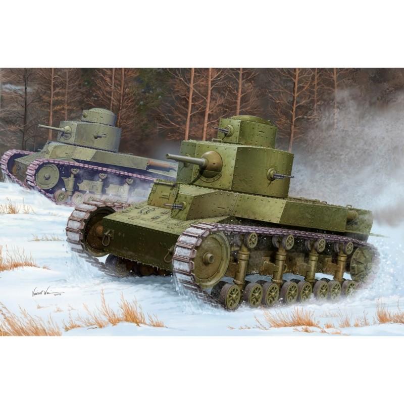 HB-82493 1/35 HOBBY BOSS Soviet T-24 Medium Tank+fotograbados