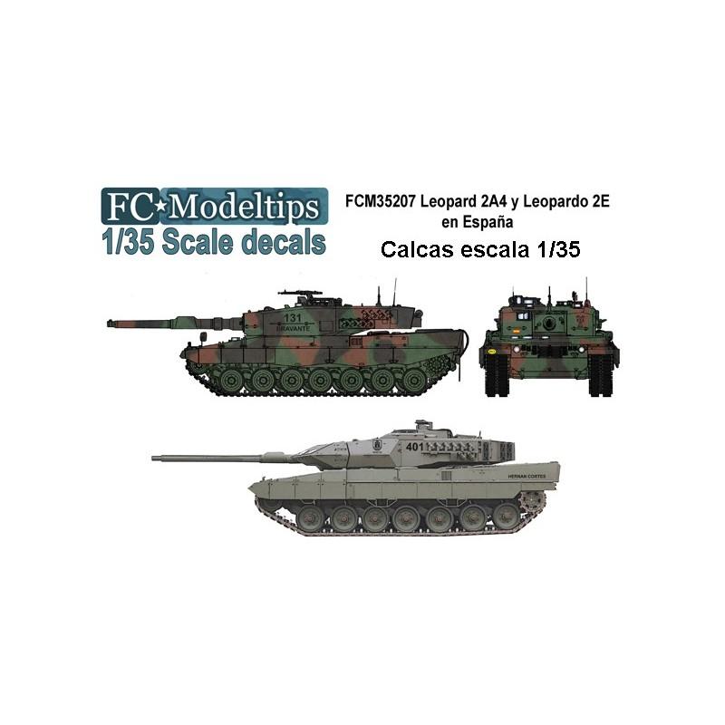 FC-35207 Calcas para Leopard 2A4 y Leopardo 2E en España