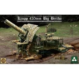 TKM-2035 TAKOM MODEL 1/35 German Empire 420mm Big Bertha Siege Howitzer