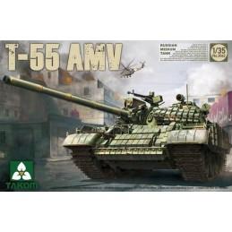 TKM-2042 TAKOM MODEL 2042 1/35 Russian Medium Tank T-55 AMV