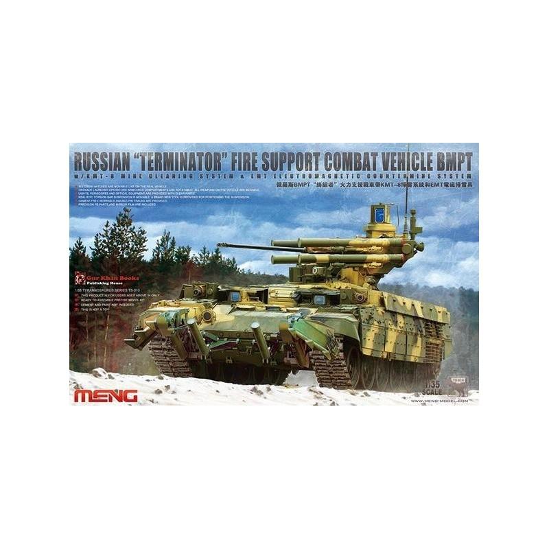 MENG-TS010 1/35 Russian Terminator Fire Support Combat Vehicle BMPT