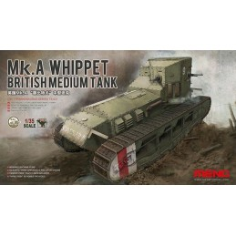 MENG-TS021 1/35 BRITISH MEDIUM TANK Mk.A WHIPPET