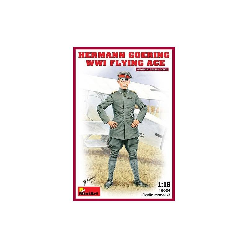 MA-16034 MINIART 160301/16 Hermann Goering. WW1 Flying Ace. Con peana