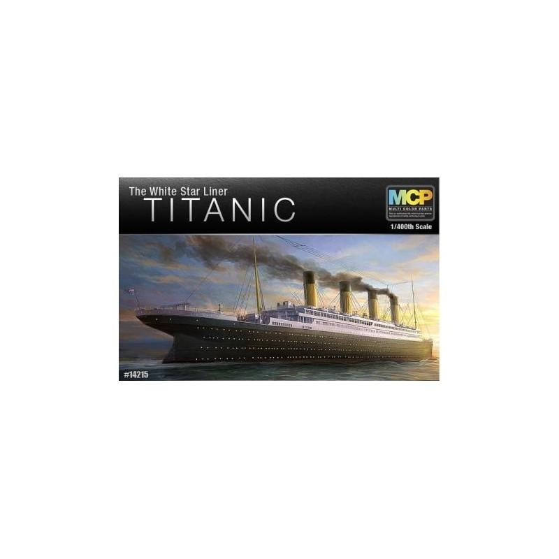 ACA-14215 ACADEMY 14215 1/400 TITANIC WHITE STAR LINER (MCP)