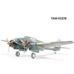 TAM-61078 TAMIYA 61078 1/48  Nakajima Gekko Model 11 Late-Production (J1N1-S)