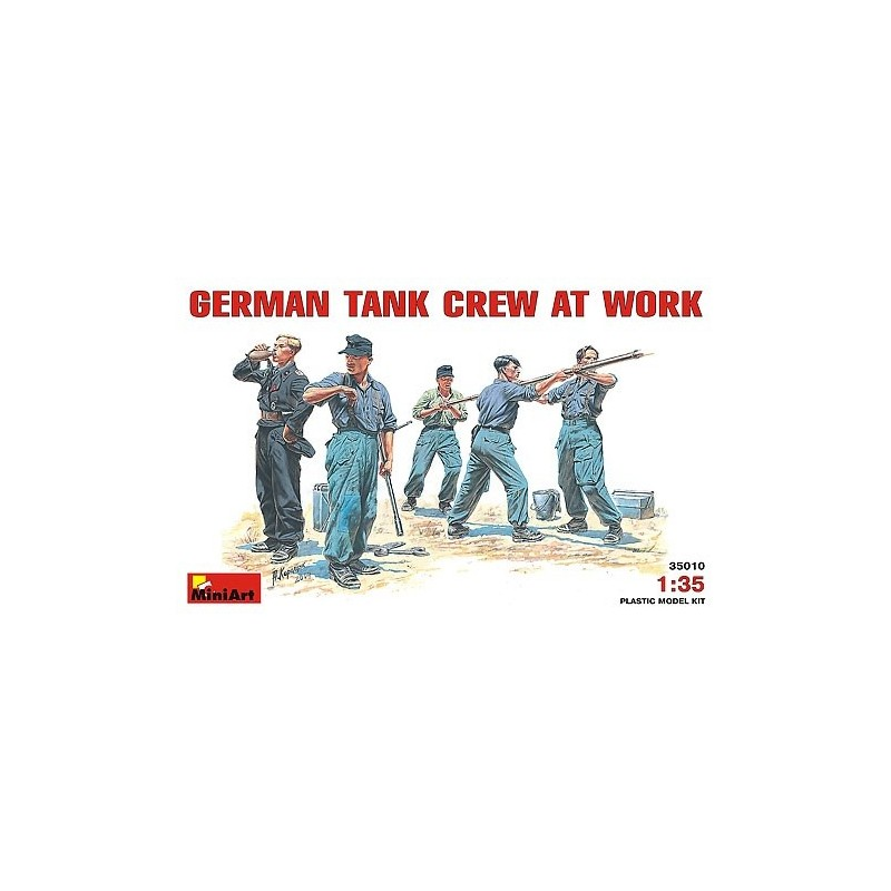 MA-35010 1/35 German Tank Crew at work