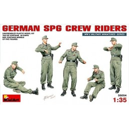 1/35 GERMAN SPG CREW RIDE