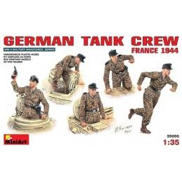 1/35 GERMAN TANK CREW FRA