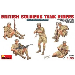 1/35 BRITISH SOLDIERS TAN