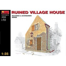 1/35 RUINED VILLAGE HOUSE