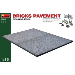 1/35 BRICKS PAVEMENT