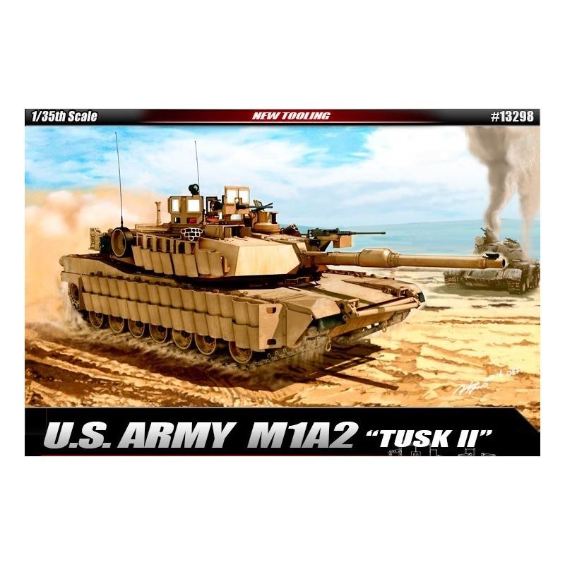 ACA-13298 ACADEMY 13298 1/35 U.S. ARMY M1A2 TUSK II 6/16