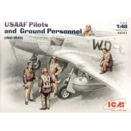 1/48 USAAF PILOTS/GROUND