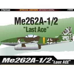 ACA-12542 ACADEMY 12542 1/72  Me262A-1/2 LAST ACE LIM.ED.