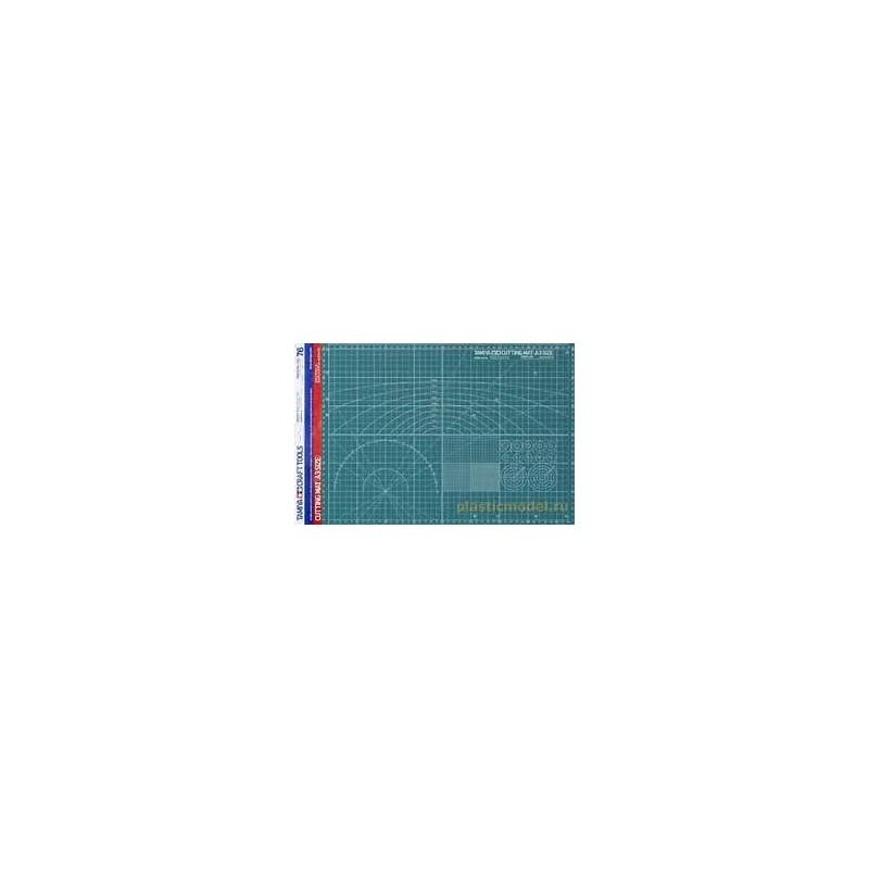 TAM-74076 TAMIYA 74076 Cutting Mat - A3 Size
