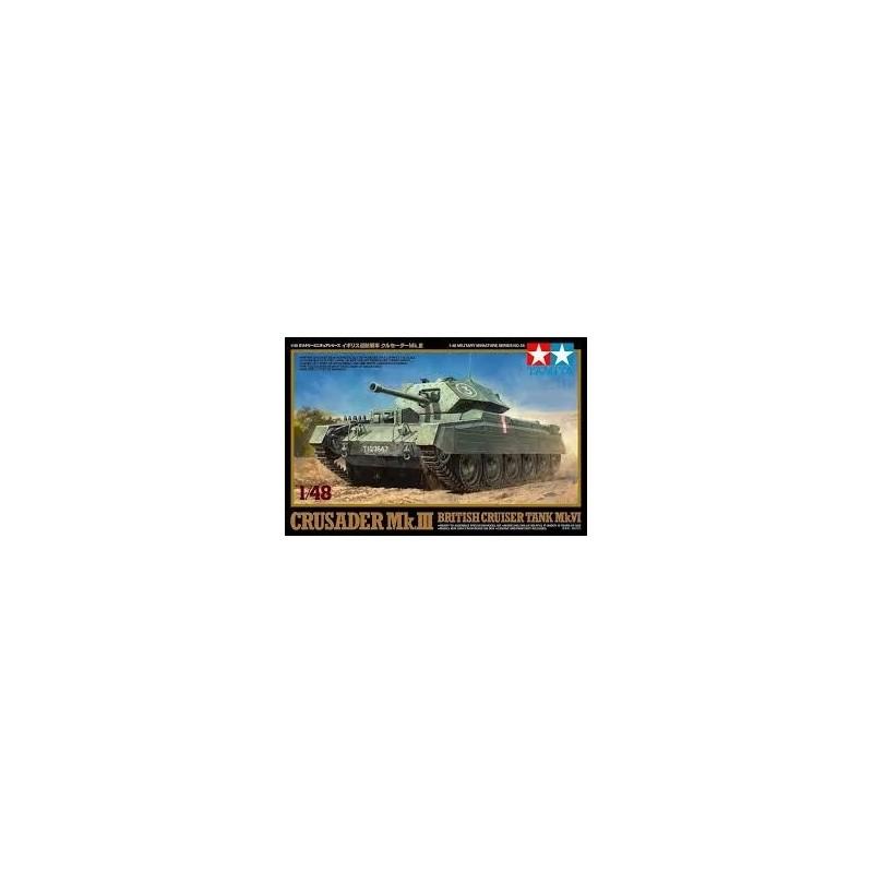 TAM-32555 TAMIYA 32555 1/48 Crusader Mk.III British Cruiser Tank Mk.IV