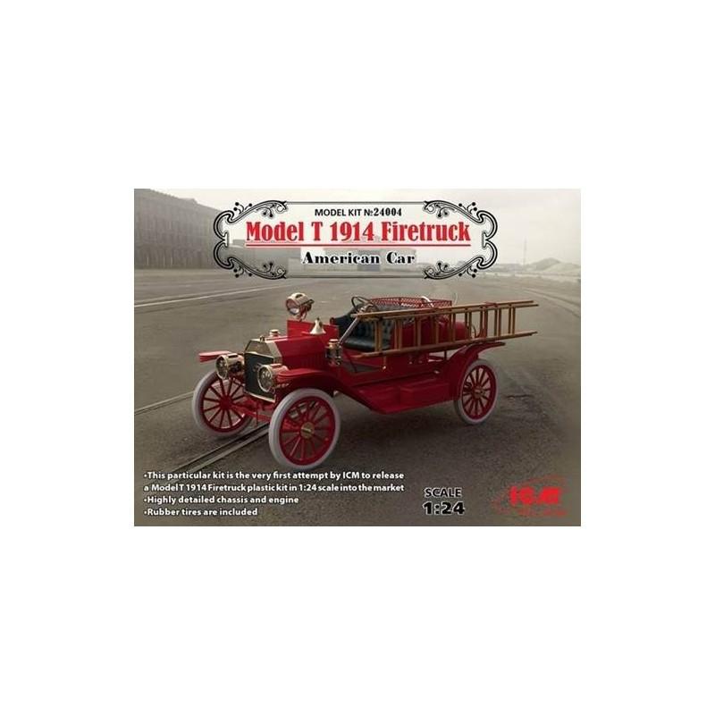 ICM-24004 ICM 24004 Model T 1914 Firetruck