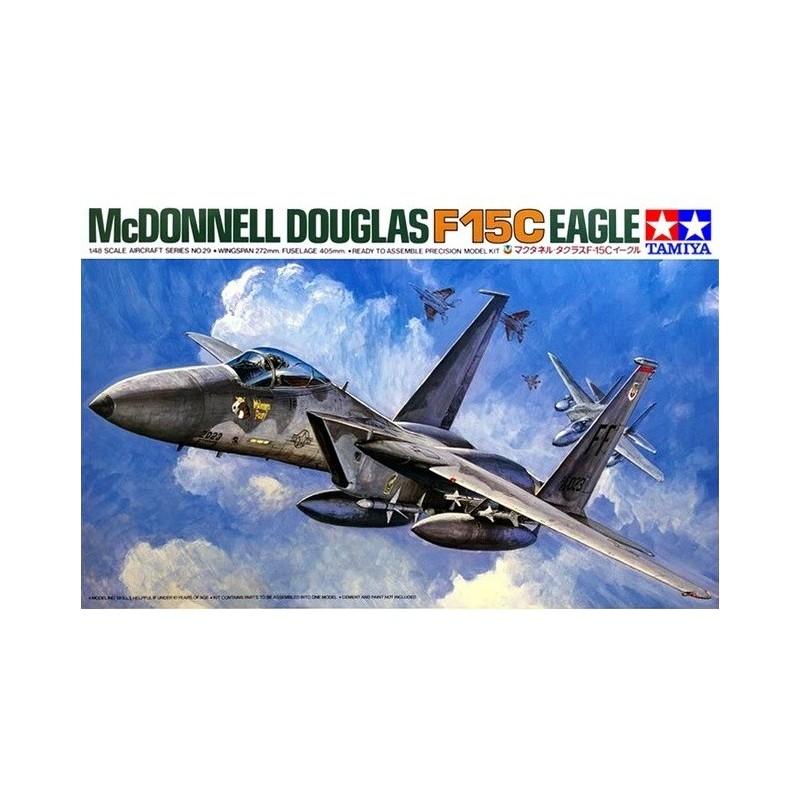 TAM-61029 TAMIYA 61029 1/48 McDonnell Douglas F-15C Eagle