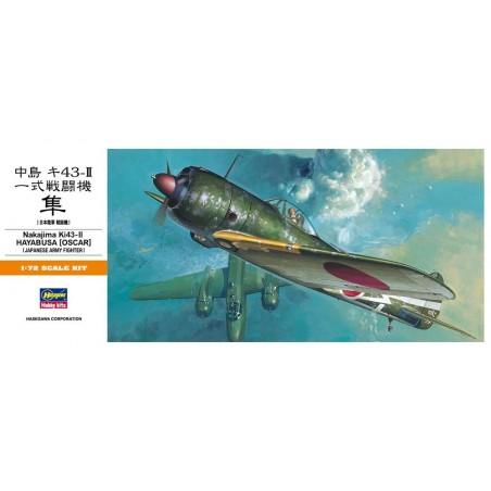 HA-00131 HASEGAWA 00131 1/72 NAKAJIMA Ki43-II HAYABUSA (OSCAR)