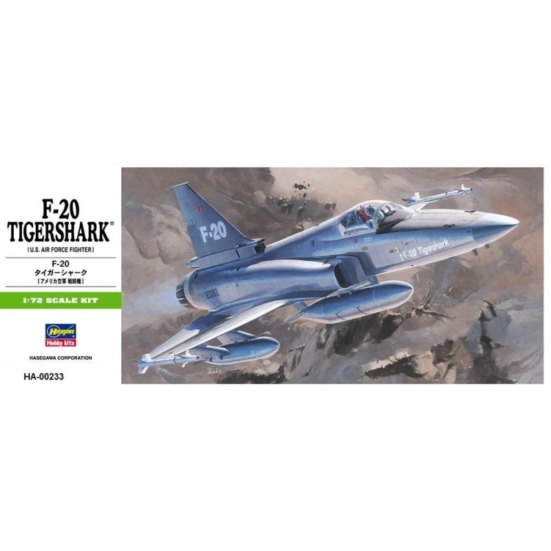 HA-00233 HASEGAWA 00233 1/72 F-20 TIGERSHARK