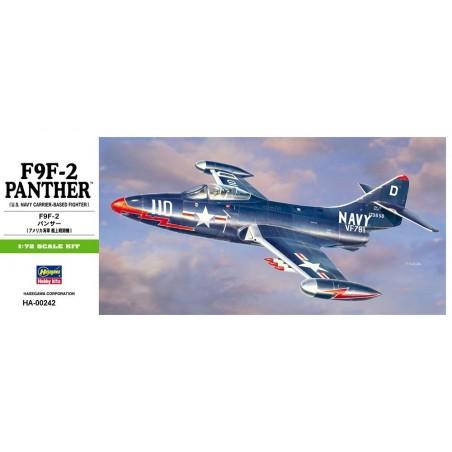 HA-00242 HASEGAWA 00242 1/72 F9F-2 PANTHER