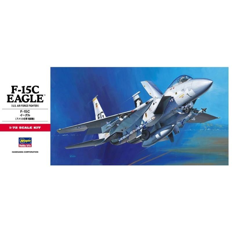 HA-00336 HASEGAWA 00336 1/72 HASEGAWA F-15C EAGLE