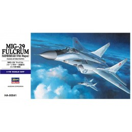 HA-00541 HASEGAWA 00541 1/72 MIKOYAN-29 FULCRUM FARNBOROUGH (With Weapon)