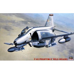 HA-07209 HASEWAGA 7209 1/48.F-4G PHANTOM II WILD WEASEL. ONE PIECE CANOPY INCLUDED