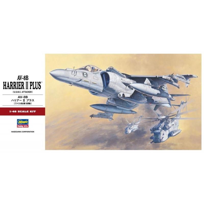 HA-07228 HASEGAWA 07228 1/48  AV-8B HARRIER II PLUS