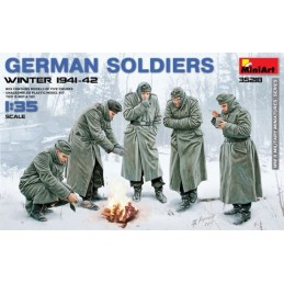 MA-35218 MiniArt 35218 1/35  German Soldiers (Winter 1941-42)