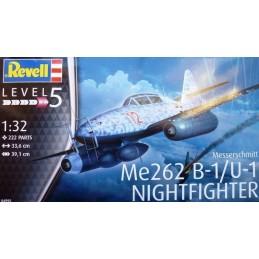 REV-04995 Revell 04995 1/32 Messerschmitt Me262 B-1/U-1 Nightfighter