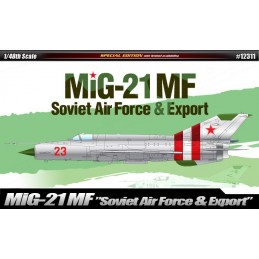 ACA-12311  ACADEMY 12311 1/48 MiG-21 SOVIET AIR FORCE  EXPORT Lim. Ed.