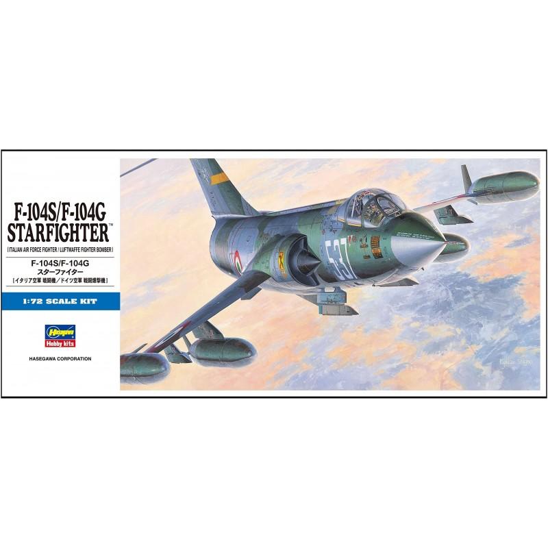 HA-00447 HASEWAGA 00447 1/72.F-104S/F-104G STARFIGHTER (ITALIAN/LUFTWAFFE)