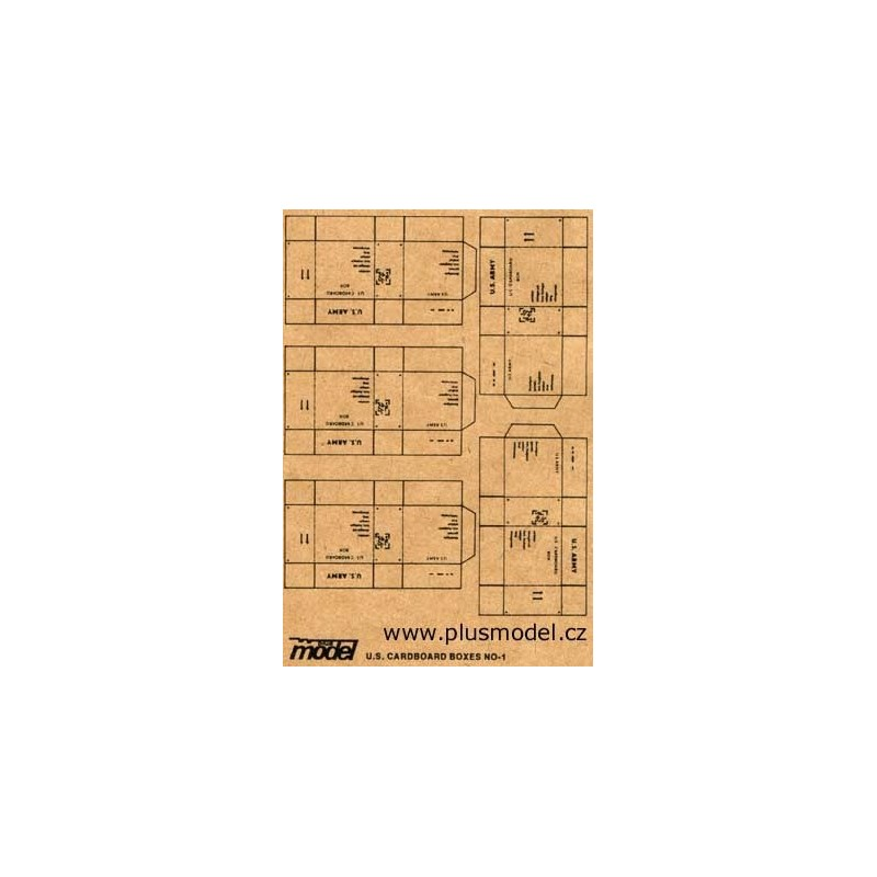 PL-009 pl-009 Plus Model 009 U.S. Cardboard Boxes