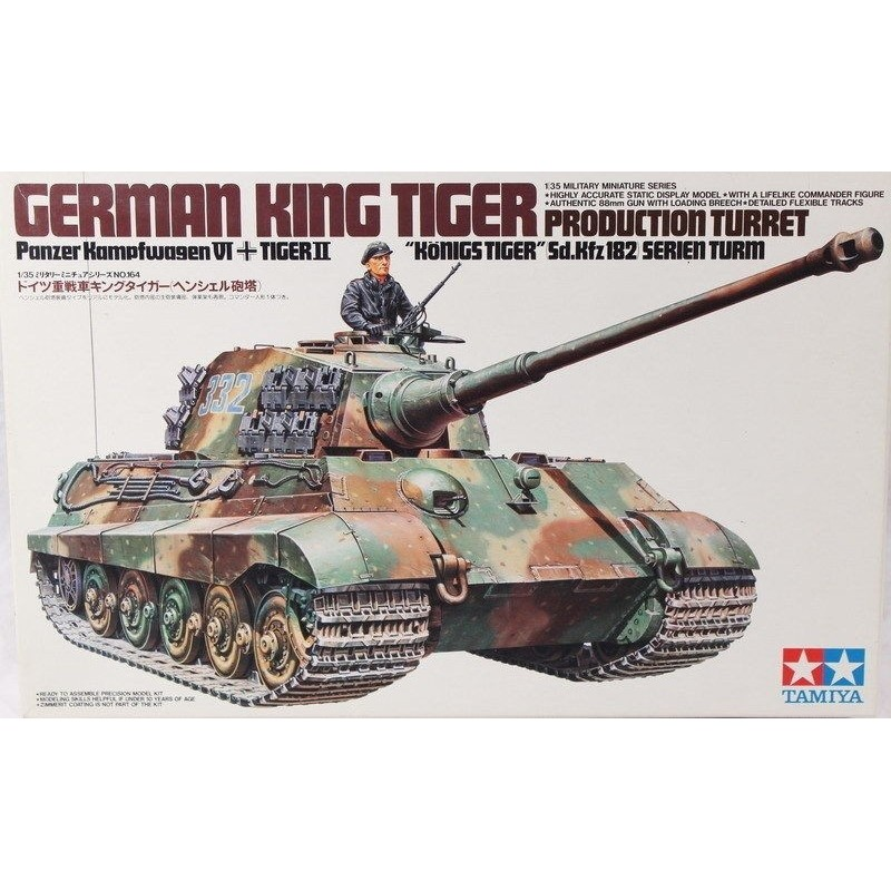 TAM-35164 Tamiya 35164 1/35 Sd.Kfz 182 King Tiger