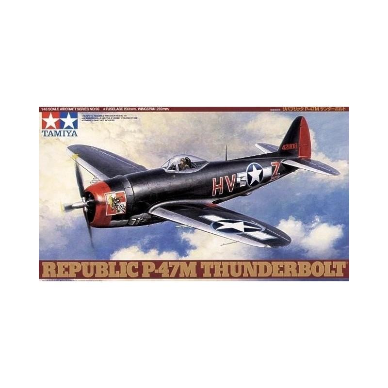 TAM-61096 Tamiya 61096 1/48 Republic P-47M Thunderbolt