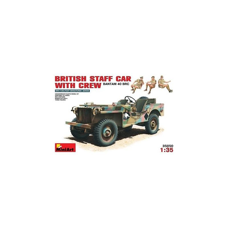 MA-35050 1/35 British Bantam 40 BRC w/Crew