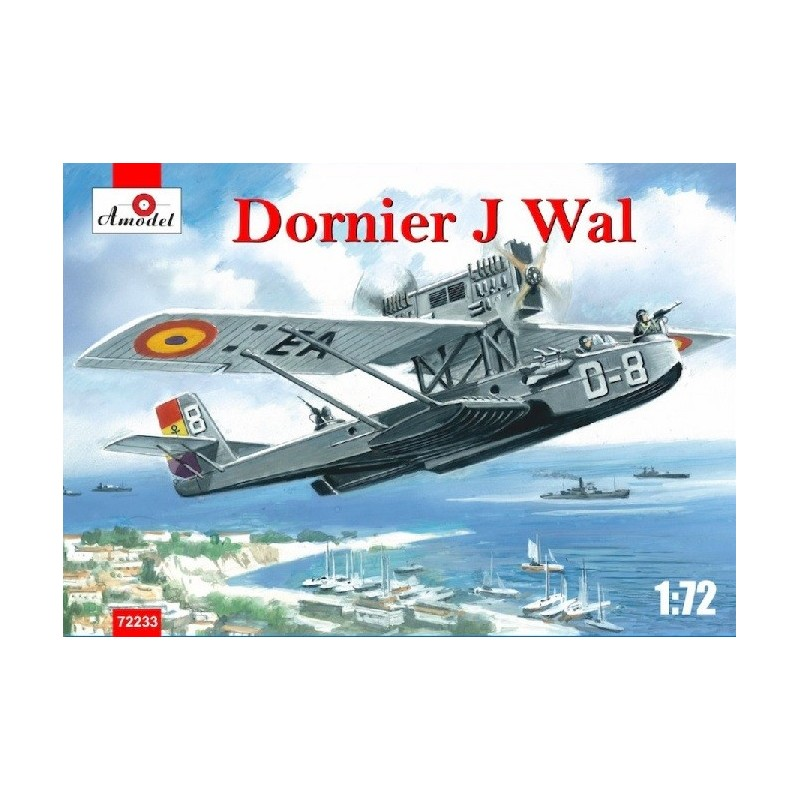 AM-72233 Amodel 72233 1/72 Dornier Do J Wal Spain Republican Air Force