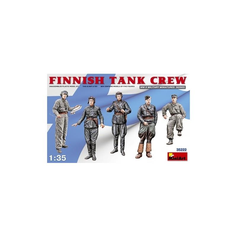 MA-35222 MINIART 35222  1/35 Finnish Tank Crew