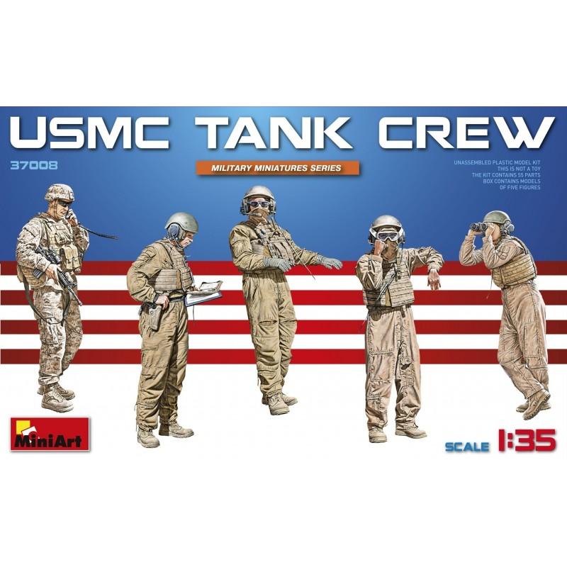 MA-37008 MINIART 37008 1/35 USMC Tank Crew