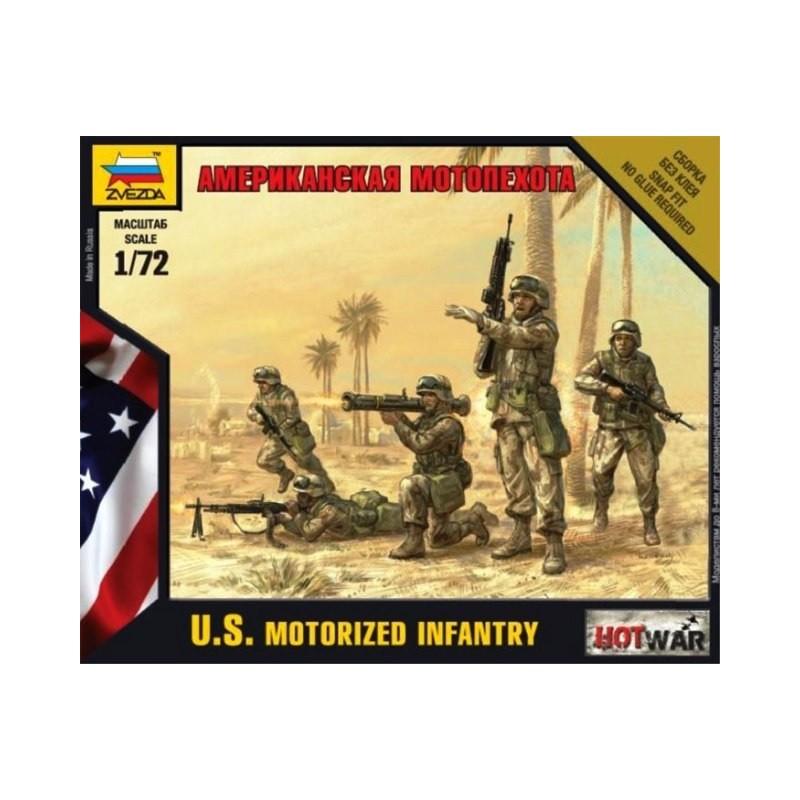 ZV-7407 Zvezda 7407 1/72 U.S. Motorized Infantry